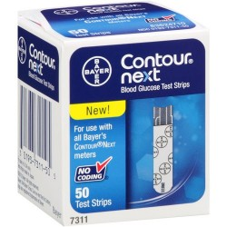 Bayer Contour Next Test Strips 50 Count