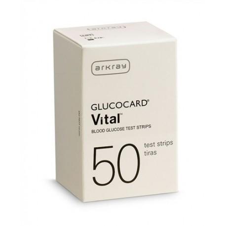Arkray GlucoCard Vital Test Strips 50 Count