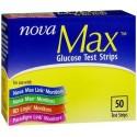 Nova Max Test Strips 50 Count