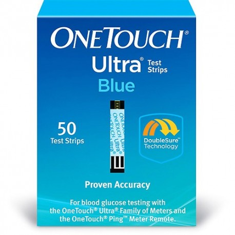 OneTouch Ultra Blue Test Strips 50 Count