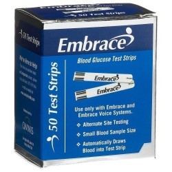 Omnis Embrace Test Strips 50 Count