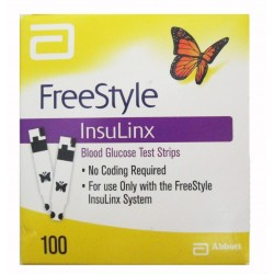 Abbott FreeStyle InsuLinx Test Strips 100 Count