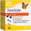 Abbott FreeStyle Lite Test Strips 100 Count