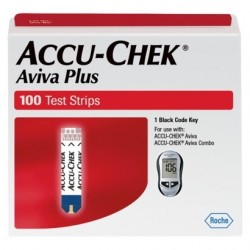ACCU-CHEK Aviva Plus Blood Glucose Test Strips 100 Count