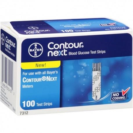 Bayer Contour Next Test Strips 100 Count- Diabetesteststripswholesale