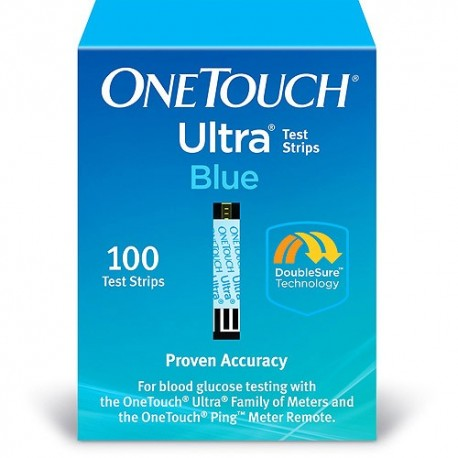OneTouch Ultra Blue Test Strips 100 Count- Diabetesteststripswholesale