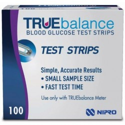 TRUEbalance Blood Glucose Test Strips 100 Count