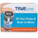 TRUEone Test strips & Built-in Meter 50 Count