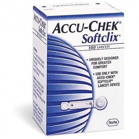 ACCU-CHEK Softclix Lancets 100 Count- Diabetesteststripswholesale