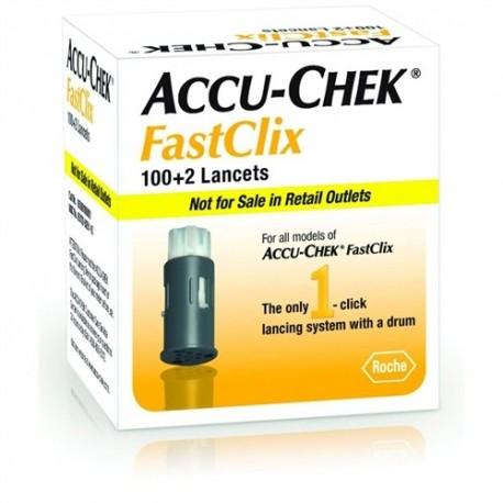 ACCU-CHEK FastClix Lancets 102 Count