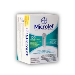 Bayer Microlet Lancets 100 Count