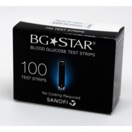 BGStar Blood Glucose Test Strips 100 Count