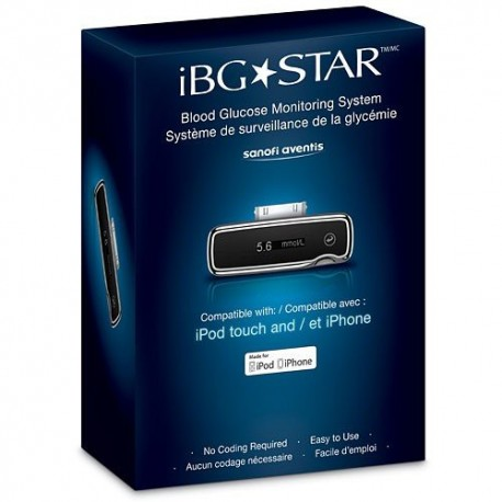 iBG Star Blood Glucose Monitoring System- Diabetesteststripswholesale