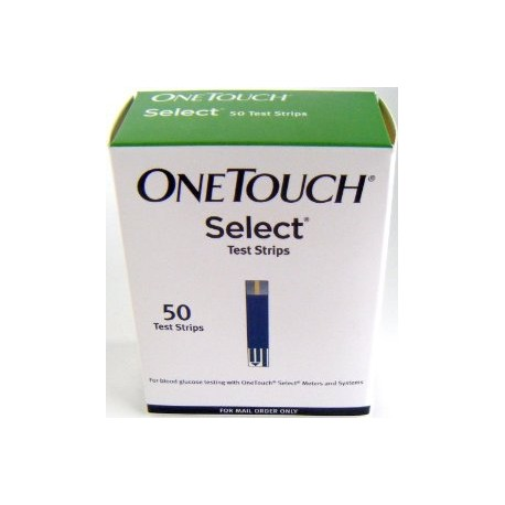 OneTouch Select test strips 50 Count- Diabetesteststripswholesale