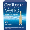 OneTouch Verio Test Strips 25 Count