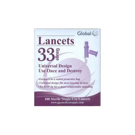 Global Lancets 33g
