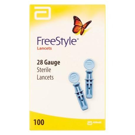 FreeStyle Lancets 28 Gauge- Diabetesteststripswholesale