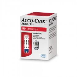 ACCU-CHEK Aviva Plus Blood Glucose Test Strips 50 Count