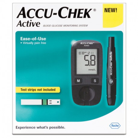 Accu-Chek Active Blood Sugar/Glucose Monitoring