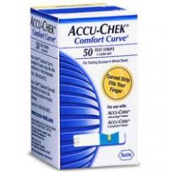 Accu-Chek Comfort Curve Glucose Test Strips
