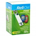 ReliOn Prime Blood Glucose Test Strips 50ct