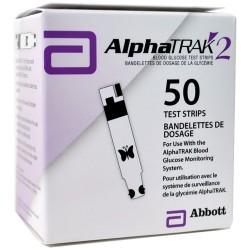 AlphaTRAK 2 Blood Glucose Test Strips 50 Count