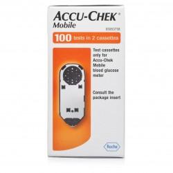 Accu-Chek Mobile Diabetes Test Strip Cassettes 100