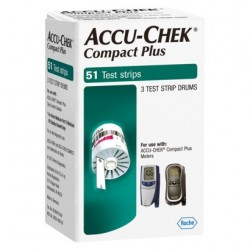 Accu-Chek Compact PLUS Test Strips, 51 ct