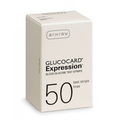 Arkray GlucoCard Expression Test Strips 50 Count