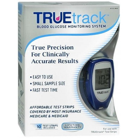 TRUEtrack Blood Diabetic Monitoring System with Starter Kit