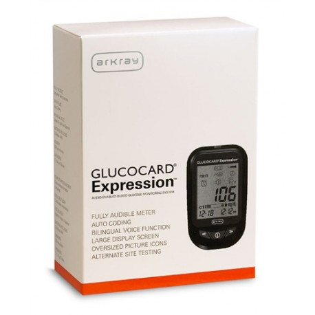Arkray GlucoCard Expression Blood Glucose Meter Kit