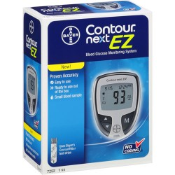 Bayer Contour NEXT EZ Blood Glucose Meter Kit