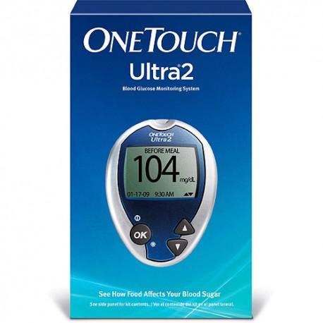 OneTouch Ultra 2 Blood Glucose Meter Kit- Diabetesteststripswholesale