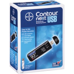 Bayer Contour Next USB Blood Glucose Monitoring System